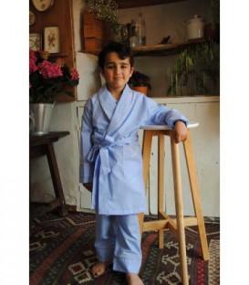 Pijama clásico oxford
